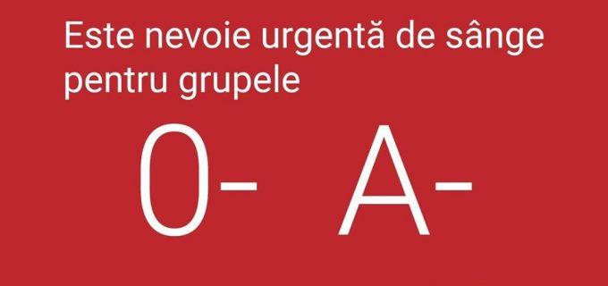 Centrul Regional de Transfuzie Sanguină Cluj caută donatori de sânge