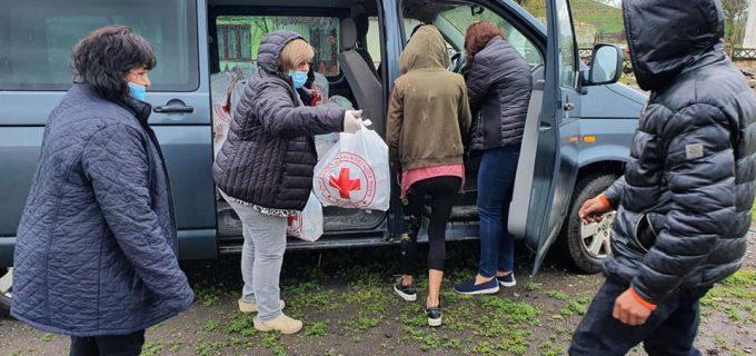 Societatea Română de Cruce Roșie și Primăria Municipiului Câmpia Turzii, în sprijinul familiilor vulnerabile