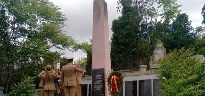 """MAPN: """"Este o regretabilă eroare. Dar nu uitați că în urmă cu un an militarii români au fost la Stalingrad unde au fost comemorați soldații români"""""""