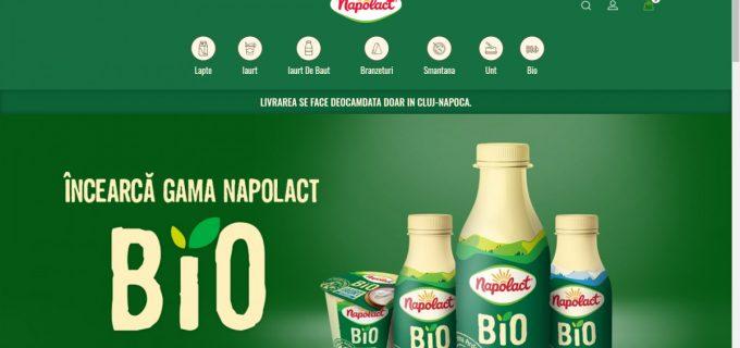 Napolact și-a deschis magazin online. Transport gratuit pentru comenzi peste 100 lei