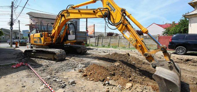 VIDEO: Au început lucrările de modernizare a infrastructurii rutiere pe strada Petru Rareș