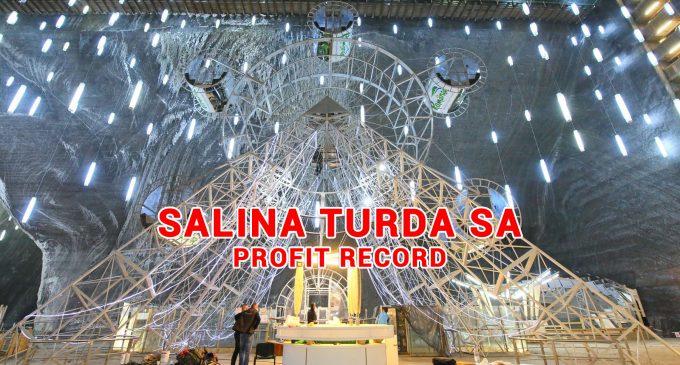 Salina Turda SA, profit mai mare cu 21% față de anul trecut!