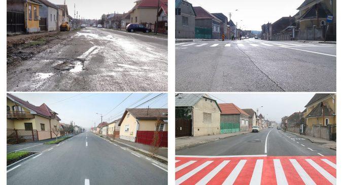 """Primarul Cristian Matei: """"Dragi turdeni, orașul nostru se transformă. Rând pe rând, toate străzile vor fi modernizate!"""""""