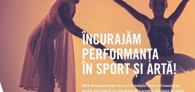 MOL România oferă Sprijin financiar de până la 10.000 lei pentru tineri sportivi și artiști