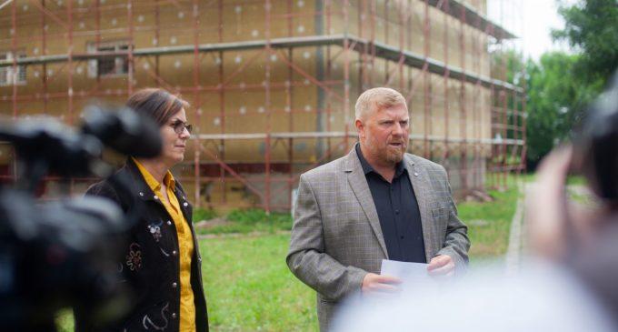 VIDEO: au început lucrările de reabilitare pe fonduri europene la Colegiul Victor Ungureanu