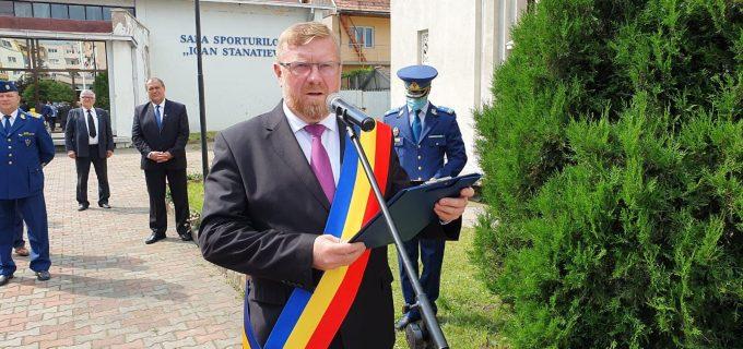 Discursul primarului Dorin Lojigan cu ocazia Zilei Drapelului National