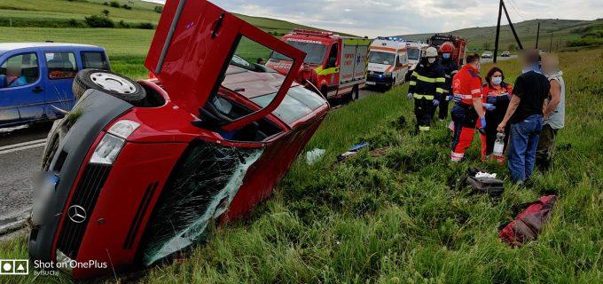 Accident rutier între Apahida și Copardea