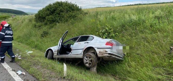 Accident rutier în Vâlcele. Șoferul eră băut și cu permisul de conducere suspendat