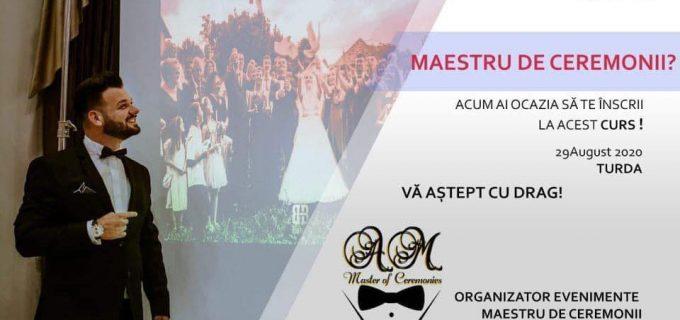 Curs Maestru de Ceremonii, organizat de Maestrul Adi Mocian