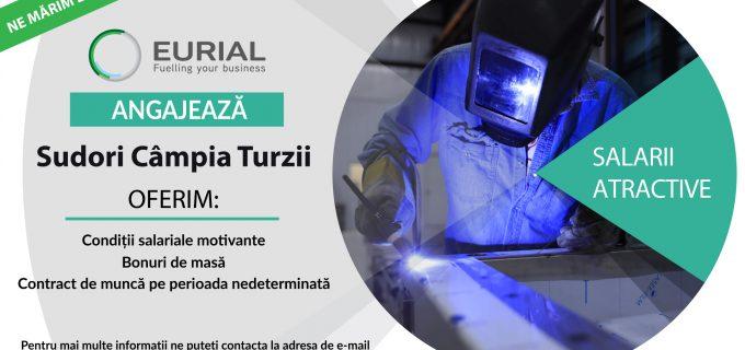 Eurial angajează SUDORI pentru fabrica din Câmpia Turzii