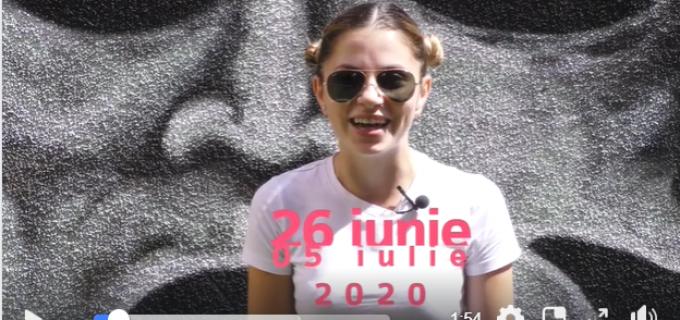VIDEO: Frumoșii actori ai Teatrului National Aureliu Manea ne invită cu multe emotii pozitive la festival!