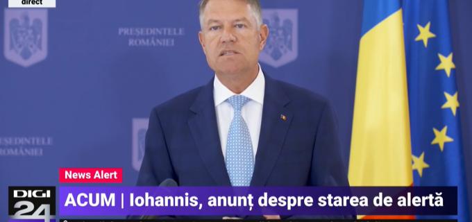 Klaus Iohannis: Suntem de părere că se impune prelungirea stării de alertă. Se deschid mall-urile și grădinitele