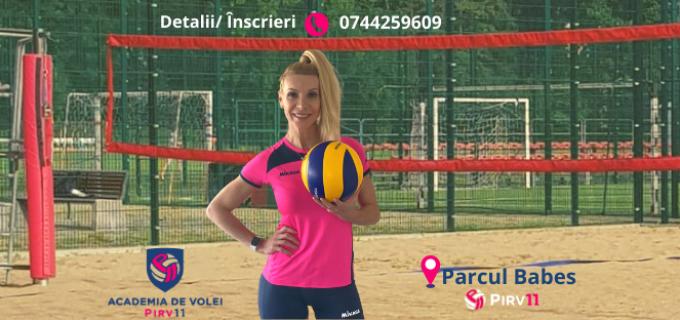 Cristina Pirv vă așteaptă la volei pe nisip, începând de luni, 22 iunie!