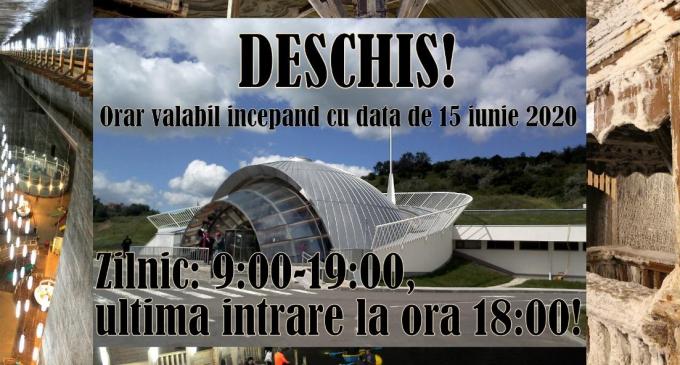 Salina Turda anuntă modificarea programului de vizitare!