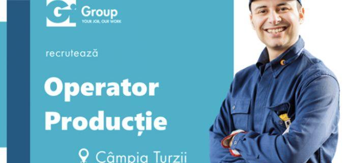 Gi Group angajează Operator Productie, în Câmpia Turzii