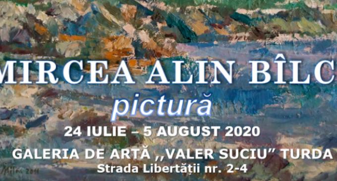 Pictorul Mircea Alin Bîlcu revine cu o expoziție personală la Galeria de Artă Turda