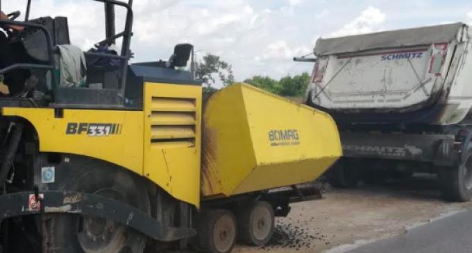 Au fost demarate lucrări de întreținere, cu asfaltare, pe drumul judeţean 103K Căpușu Mare – Râșca