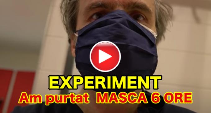 """VIDEO – Experiment: """"Ce s-a întâmplat cu sângele meu?"""""""