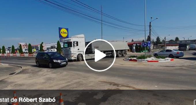 VIDEO – Róbert Szabó: Unde sunt camioanele care virează pe trotuar?