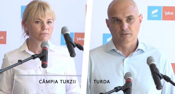 Alianta USR – PLUS a anuntat candidatii la functia de primar pentru Turda și Câmpia Turzii