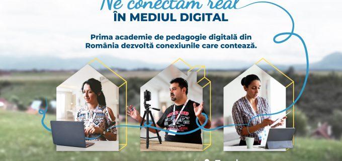 Teach for Romania lansează prima academie de pedagogie digitală din România