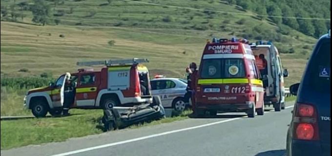 FOTO: Un nou accident pe centura Apahida