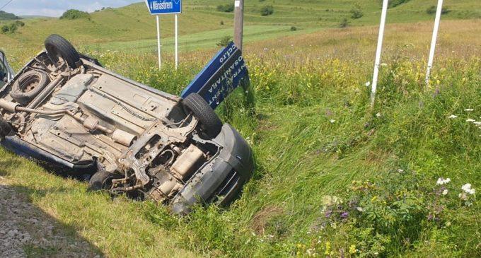 Un nou accident mortal în Judetul Cluj. Interventie cu elicopterul SMURD