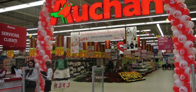 Surse: Auchan Turda se deschide săptămâna viitoare!