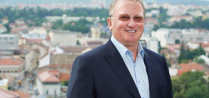 Remus Lăpușan candidează la funcția de președinte al Consiliului Județean Cluj