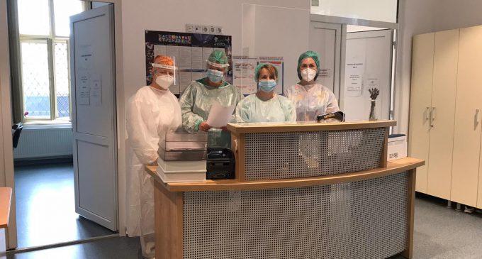 Program de recoltare prelungit la Spitalul de Urgentă pentru testarea PCR