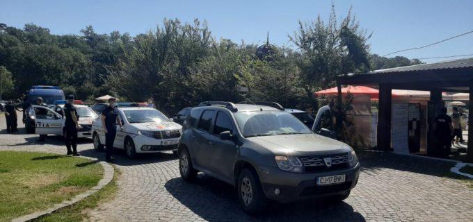 Razie a Politiei la Turda. Nu s-au constatat abateri de la normele privind prevenirea răspândirii covid19!