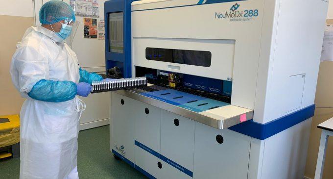 Noi echipamente de testare COVID-19 la Spitalul de Boli Infecțioase din Cluj