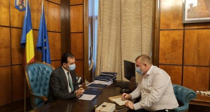 Dorin Lojigan: Astăzi, am avut o întrevedere cu domnul Prim-ministru, Ludovic Orban