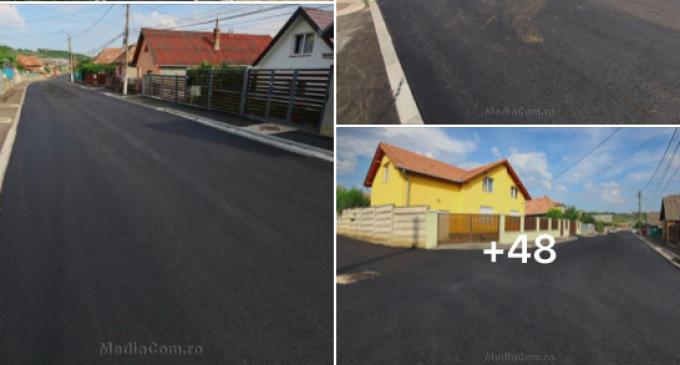 Foto/Video: Strada Salinelor a fost modernizată! Lucrările au fost finalizate astăzi