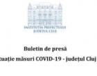 În ultimele 24 de ore, 551 persoane au fost confirmate Covid-19 din județul Cluj