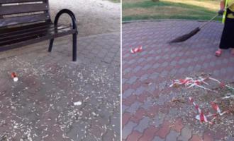 Primăria Turda: Aviz amatorilor care lasă în urma lor coji de semințe, mucuri de țigară, peturi, ambalaje sau alte gunoaie pe domeniul public!