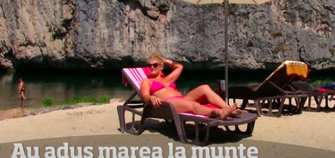 Plaja sălbatică, accesibilă cu mașina, poate cel mai superb loc din România