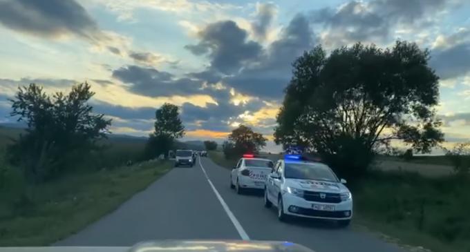 Accident rutier în afara localității Crăiești, comuna Petreștii de Jos, soldat cu decesul unui minor