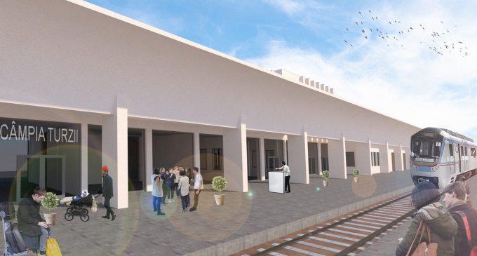 Gara din Câmpia Turzii va fi reabilitată. Dorin Lojigan a semnat Certificatul de Urbanism