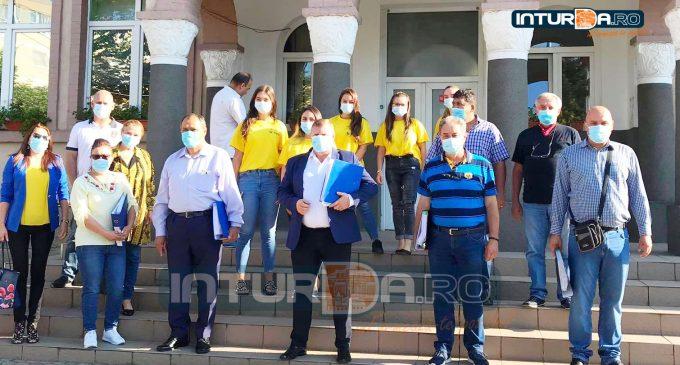 VIDEO. Lojigan Dorin și-a depus dosarul pentru al doilea mandat la Primăria Câmpia Turzii