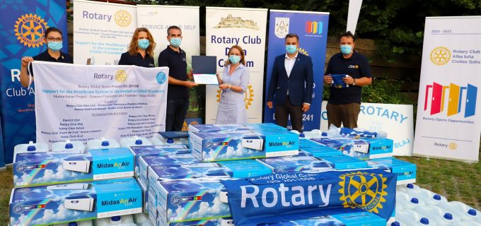 Cluburile Rotary Turda și Câmpia Turzii, parteneri într-un proiect în valoare de 42.000 dolari