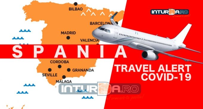 Breaking News: Spania este pe lista galbena a Romaniei. Zborurile vor fi suspendate!