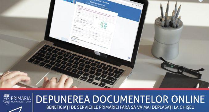 Primăria Turda a implementat o platformă de depunere a documentelor online