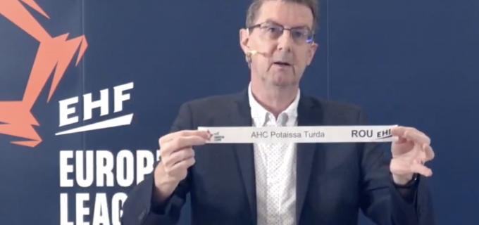 VIDEO:  Potaissa Turda si-a aflat adversara din turul 2 preliminar European Handball League