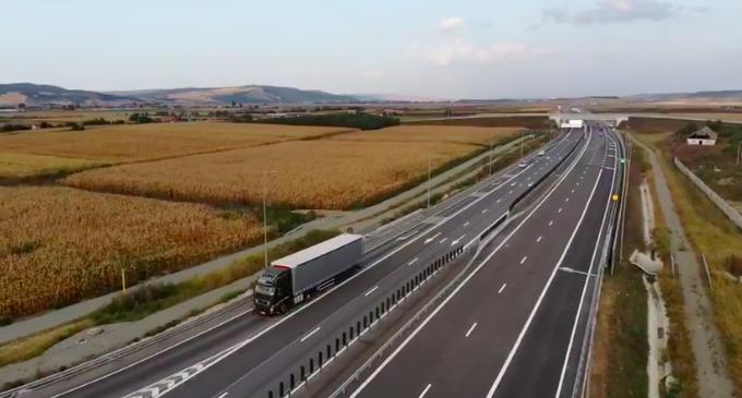 VIDEO: S-a deschis circulația rutieră pe încă 17,9 km de pe Autostrada Transilvania
