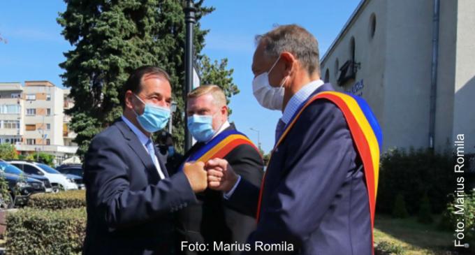 Premierul Ludovic Orban: Cristian Matei a generat un program de dezvoltare fara precedent pentru municipiul Turda