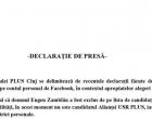 Conducerea PLUS Cluj se delimiteaza de recentele declaratii facute de Eugen Zamblau