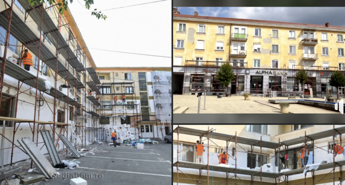 """Proiectul european ,,Reabilitarea și creșterea eficienței energetice în clădirile rezidențiale ale Asociației de proprietari Piața Republicii nr. 43 și Asociației de proprietari str. Libertății nr. 2, bl. 53"""" este în plină desfășurare"""