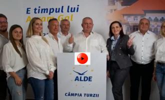 VIDEO: Echipa ALDE Câmpia Turzii vă mulțumește pentru încredere și vă invită la vot pe 27 Septembrie pentru a alege #SCHIMBAREA!
