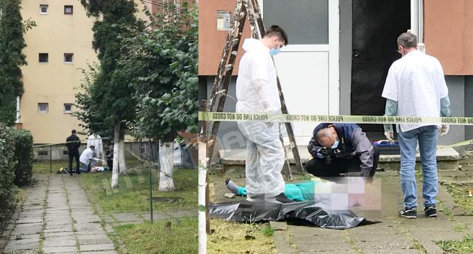 VIDEO: Tragedie la Turda! O femeie a decedat dupa ce a cazut de la etajul 4 al unui bloc